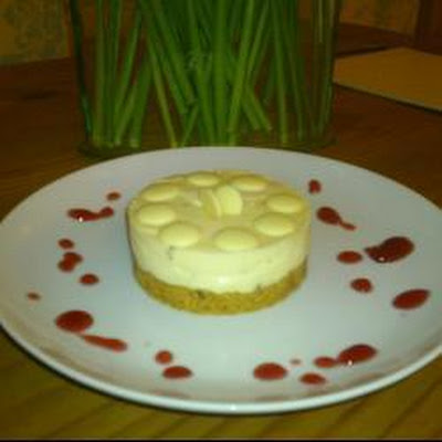Milky Bar Cheesecake (white Chocolate Cheesecake)