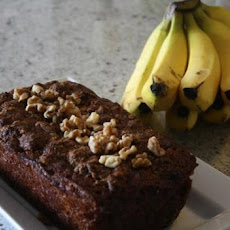 Banana Walnut Bread (Sugar/Grain/Gluten Free)