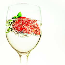 Bubbly by Earl Heister - Food & Drink Fruits & Vegetables
