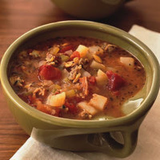 Fire-Roasted Manhattan Clam Chowder