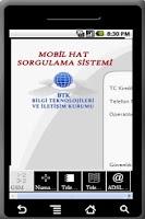 Screenshot of GSM Hat ve Telekom Sorgula Öde