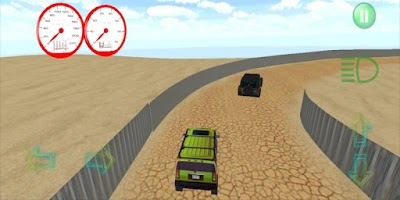 Screenshot of OFF-ROAD RACING JEEP CARS