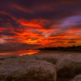 SUNSET by Ciprian Nafornita - Landscapes Sunsets & Sunrises ( sunset,  )