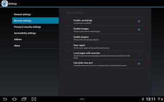 Screenshot of Micro Browser
