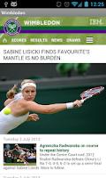 Screenshot of Tennis Launcher