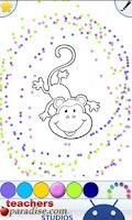 Screenshot of Jungle Animals Coloring Book