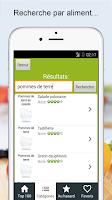 Screenshot of Recettes cuisine et cocktails
