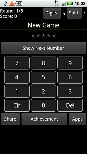 Number Blink - Number Memory