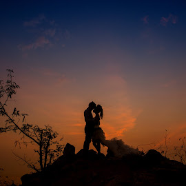 Romance Love by Tim Chong - Wedding Bride & Groom ( love )