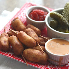 Mini Smoked Corn Dogs - Gluten Free or Not