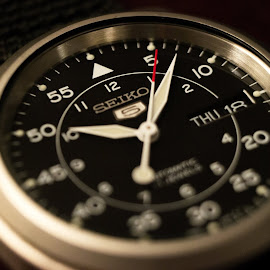 seiko automatic watch by Christopher Wu - Abstract Macro (  )