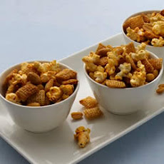 Gluten Free Chili and Garlic Snack Mix