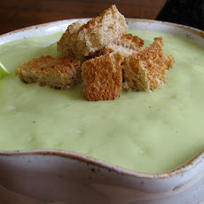 Spicy Avocado Soup