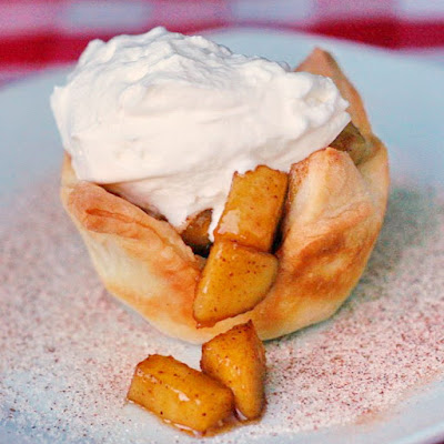 Sautéed Apple Cinnamon Tarts