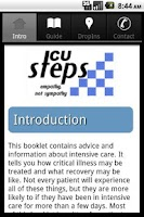 Screenshot of ICUsteps - Intensive Care