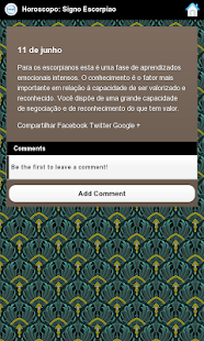 Horoscopo: Signo Escorpiao - screenshot