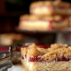Cranberry Oat Cream Cheese Bars
