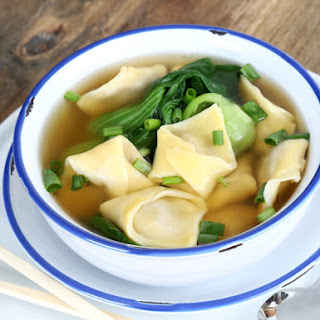 The Best Gluten Free Wonton Wrappers + Wonton Soup!