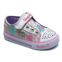 Skechers Brite Wing Twinkle Toes CANVAS