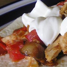 Chicken and Bacon Fajitas