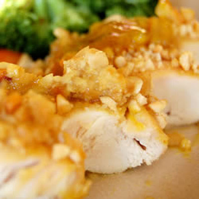 Cashew Crusted Chicken