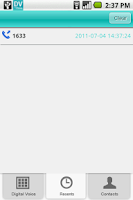 Screenshot of Digital Voice