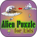 Alien Puzzle for Kids icon