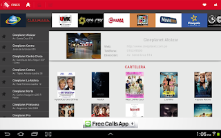 Screenshot of Full Cine: Cartelera de Perú