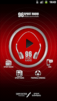 Screenshot of 96 Sport Radio