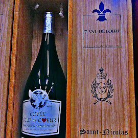 A great wine by Dobrin Anca - Food & Drink Alcohol & Drinks ( wine, red, wood, glass, france,  )
