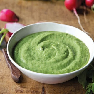 Radishes With Avocado Dip From 'The VB6 Cookbook'
