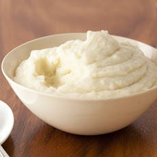 Mashed Potatoes with Roasted Garlic and Mascarpone Cheese