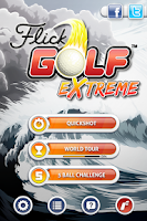 Screenshot of Flick Golf Extreme