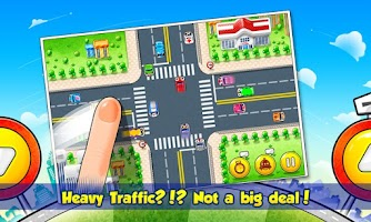 Screenshot of Flick Traffic