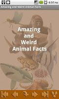 Screenshot of Amazing and Weird Animal Facts