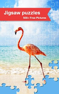 500+  Free Jigsaw Puzzles Game - screenshot