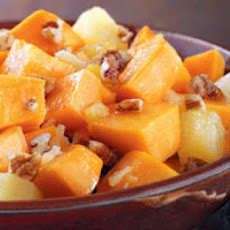 Pineapple & Spice Sweet Potatoes