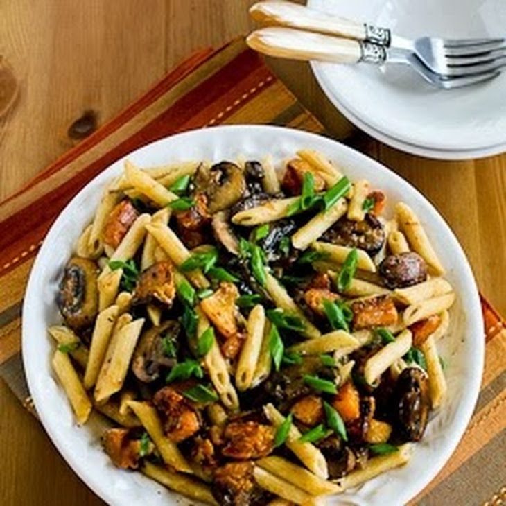 Pasta With Shiitake, Peas, And Goat Cheese (Il Buco Alimentari E ...