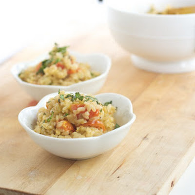 Caprese Brown Rice
