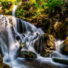 Air Terjun Oehala-Soe East Nusa Tenggara by Rafiz Balawelin - Landscapes Waterscapes ( water, mountain, waterfall, landscapes, landscape )
