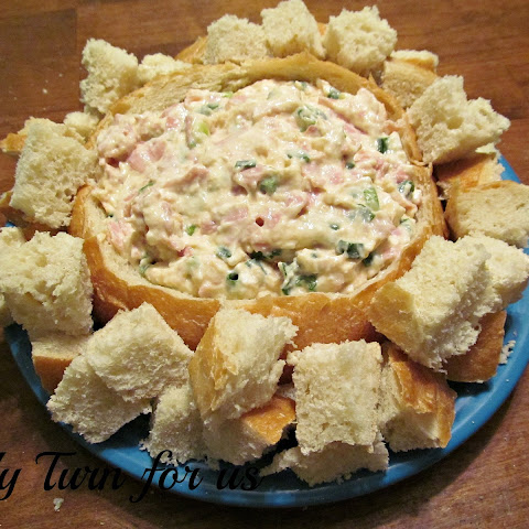 Easy Shrimp Dip in a Bread Bowl