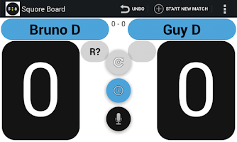 Screenshot of Squash Score Board Squore