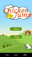 Screenshot of Chicken Jump