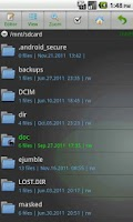 Screenshot of eJumble File Manager