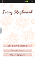 Screenshot of Ivory Keyboard