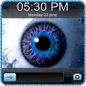 3D Eye Go Locker EX Theme