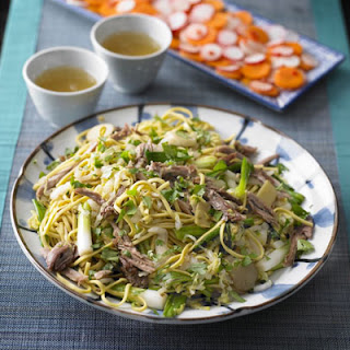 Duck & Spring Onion Noodles