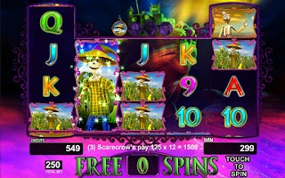 Screenshot of Wonderful Wizard of Oz Slot