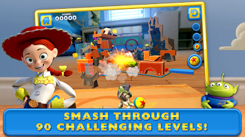 Screenshot of Toy Story: Smash It!