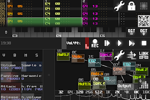 Screenshot of SunVox